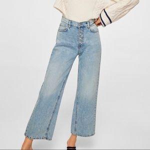 Mango high waisted jeans!